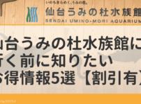 仙台うみの杜水族館に行く前に知りたいお得情報5選【割引あり】