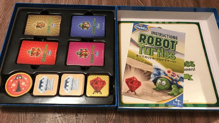ロボットタートルの内容物