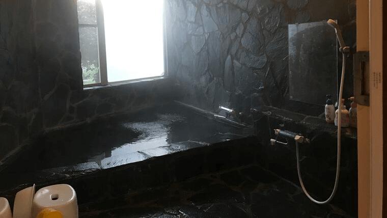 那須高原ペンションファミールの家族風呂