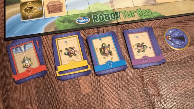 ロボットタートルの主要カード