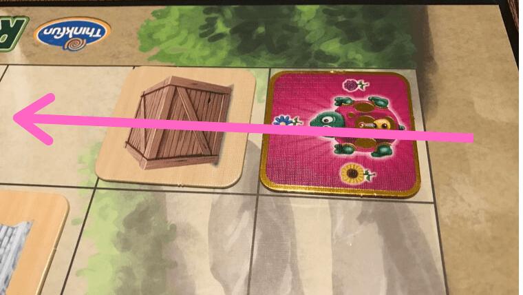 ロボットタートルの障害物:箱